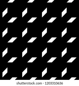 Geometric ornament. Polygons wallpaper. Quadrangles backdrop. Blocks background. Mosaic motif. Digital paper, textile print, web designing, abstract. Seamless surface pattern design. Vector artwork.