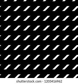 Geometric ornament. Polygons wallpaper. Quadrangles background. Diagonal strokes backdrop. Mosaic motif. Digital paper, textile print, web designing, abstract. Seamless surface pattern design. Vector