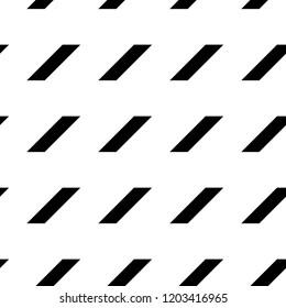 Geometric ornament. Polygons wallpaper. Quadrangles background. Diagonal strokes backdrop. Mosaic motif. Digital paper, textile print, web designing, abstract. Seamless surface pattern design. Vector.