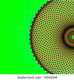 geometric ornament, vector