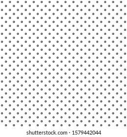 Geometric ornamental line circle black vector illustrator Seamless pattern background design wallpaper.