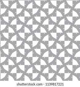 Geometric ornamental vector pattern. Seamless design.