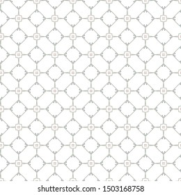 Geometric ornamental vector pattern. Seamless design texture.