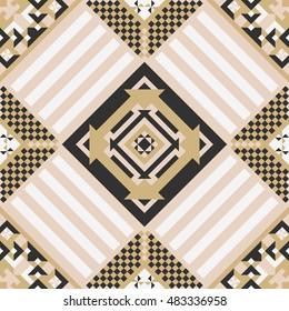geometric ornate abstract pattern