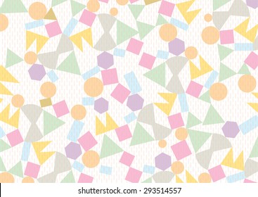 Geometric Pattern . Abstract Background . Vector Texture