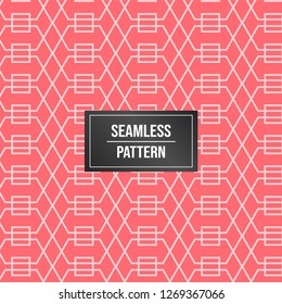 Geometric pattern background. Abstract pattern pink background