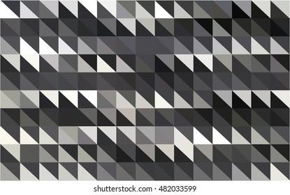 Geometric pattern background dark grey vector