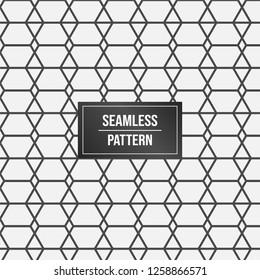 Geometric pattern background. Minimalist Abstract seamless pattern