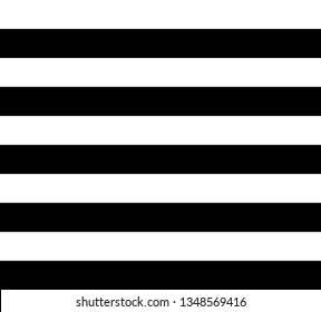 Geometric pattern, black stripes over white background