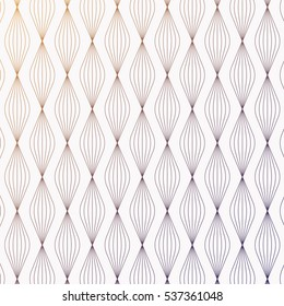 Geometric pattern of linear pattern. Abstract stylish background stylized petals with gradient changing