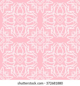 The geometric pattern with lines,Tints of Pink Seamless pattern, Abstract Seamless pattern, Vector Seamless pattern, Repeating geometric, Seamless floral pattern