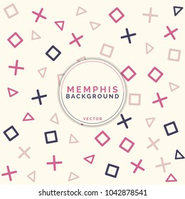 Geometric pattern memphis, web - design. Background memphis style. Neon backgraund. Geometric backgraund.