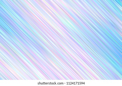 Geometric pattern with slanted lines. Light Multicolor vector cover with stright stripes. Shining colored vector illustration