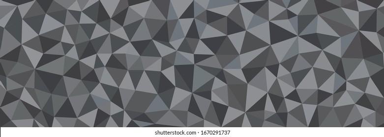 geometric pattern, triangles background, polygonal, dark triangle background...