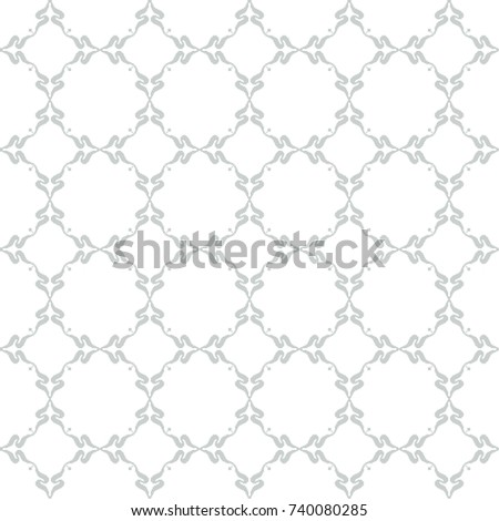 Geometric Patterns Formed Squares Template Embroidery Decoration