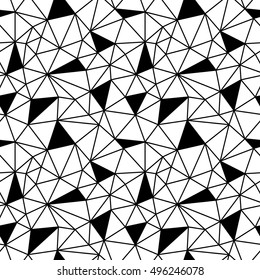 geometric polygon pattern