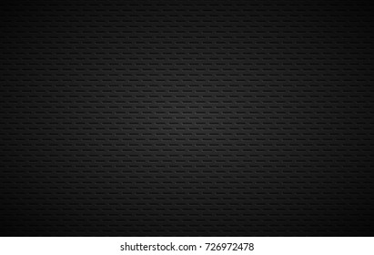 Geometric polygons background, abstract black metallic stainless steel wallpaper, vector illustration