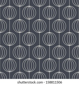 Geometric seamless pattern. Abstract vector background.
