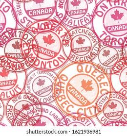 Geometric seamless pattern. Canada, North America theme, Design pattern. Fabric pattern. Decor pattern. Vector.
