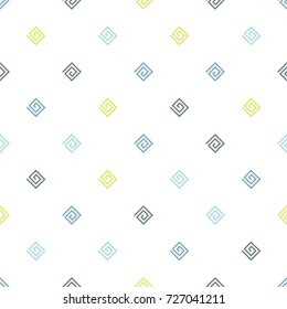 Geometric seamless pattern. Childish background. Vector
