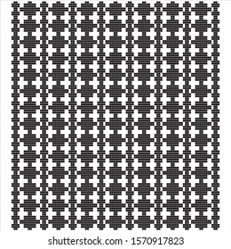 Geometric seamless pattern. Decorative background for cover, wallpaper, textile, design; traditional motifs