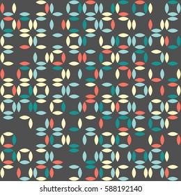 geometric seamless pattern design