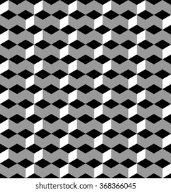 Geometric seamless pattern, geo pattern in grey, chevron pattern