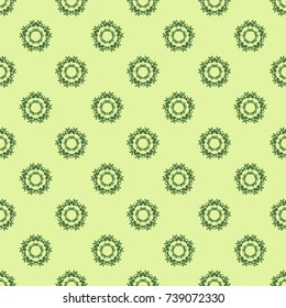 Geometric seamless pattern, lace