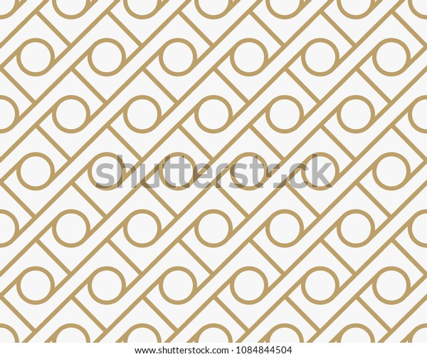 geometric seamless pattern with line, modern minimalist style pattern background