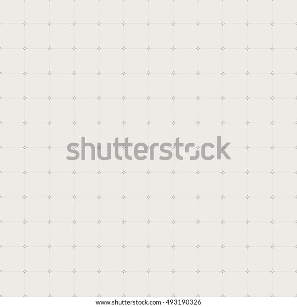 Geometric seamless pattern. Openwork lattice of fine lines. Simple regular background. Vector illustration