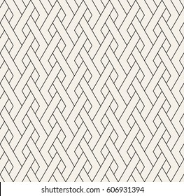 Geometric seamless pattern. Simple regular background. Vector illustration with linear herringbone.