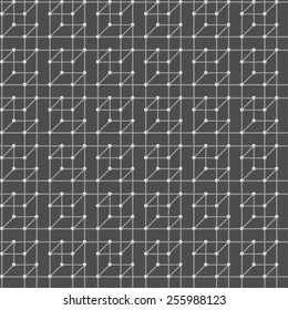 Geometric seamless pattern. Structure. Vector.