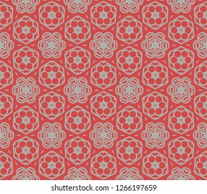 Geometric shape abstract vector illustration. Vector background. Seamless pattern.For design, page fill, wallpaper