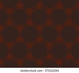 Geometric shape abstract vector illustration. Seamless pattern.