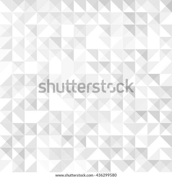 Geometric Simple Minimalistic Background Triangles Pattern Stock Vector Royalty Free 436299580