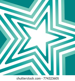 Geometric Star Vector Background For Scrapbook, Posters, Web, Greeting Cards