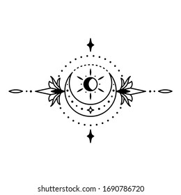 geometric tattoo design simple ink