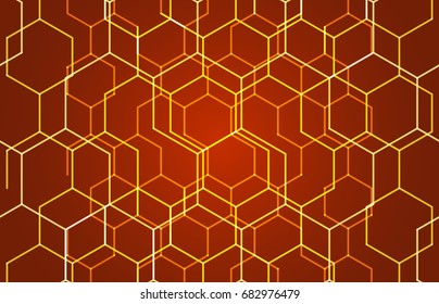Geometric texture. Line pattern. Modern cube background. Cell abstraction. Connection vector illustration for print and web design. Network black pattern. Organic concept.
