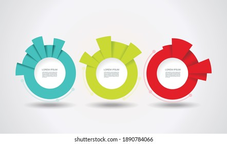 Geometric Timeline infographic design for illustration of new technologies, marketing, presentation, workflow layout, diagram, annual report, web design.