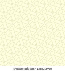 Geometric traingle seamless pattern. Olive green background