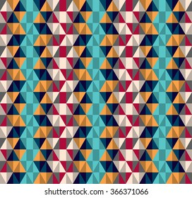 geometric triangel pattern. Geometric simple print. Vector repeating texture. Background vector.
