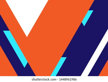 geometric triangle shape, abstract background, graphic banner and advertising design layout