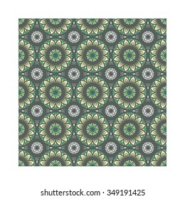 Geometric vector seamless pattern.