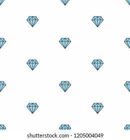 Geometric vector seamless pattern with linear diamonds. Ornament can be used for wallpaper, pattern fills, web page background,surface textures and fabrics
