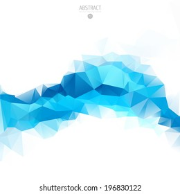 geometric wave water blue ice cloud abstract advertising triangles wallpaper conceptual shape geometric blue background geometric wave water blue ice cloud abstract advertising triangles wallpaper str