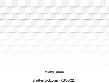 Geometric white abstract background design,used for graphic design.
