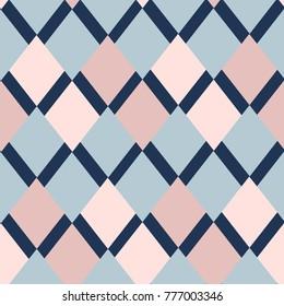 geometrical pattern of rhombuses
