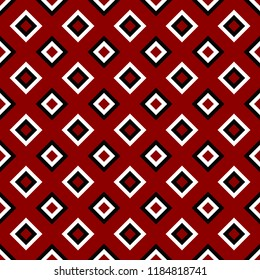 Geometrical repeating pattern - vector square background design