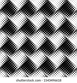 Geometrical seamless dot pattern background design - abstract vector illustration from dots