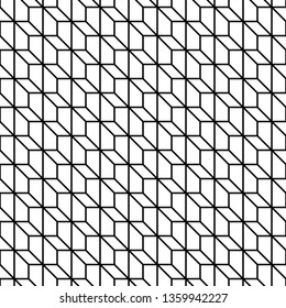 Geometrical Seamless Pattern. Vector endless texture.